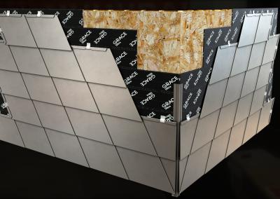 Ticlad Flat Lock Panels