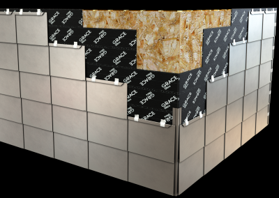 Ticlad Flat Lock Wall Panels