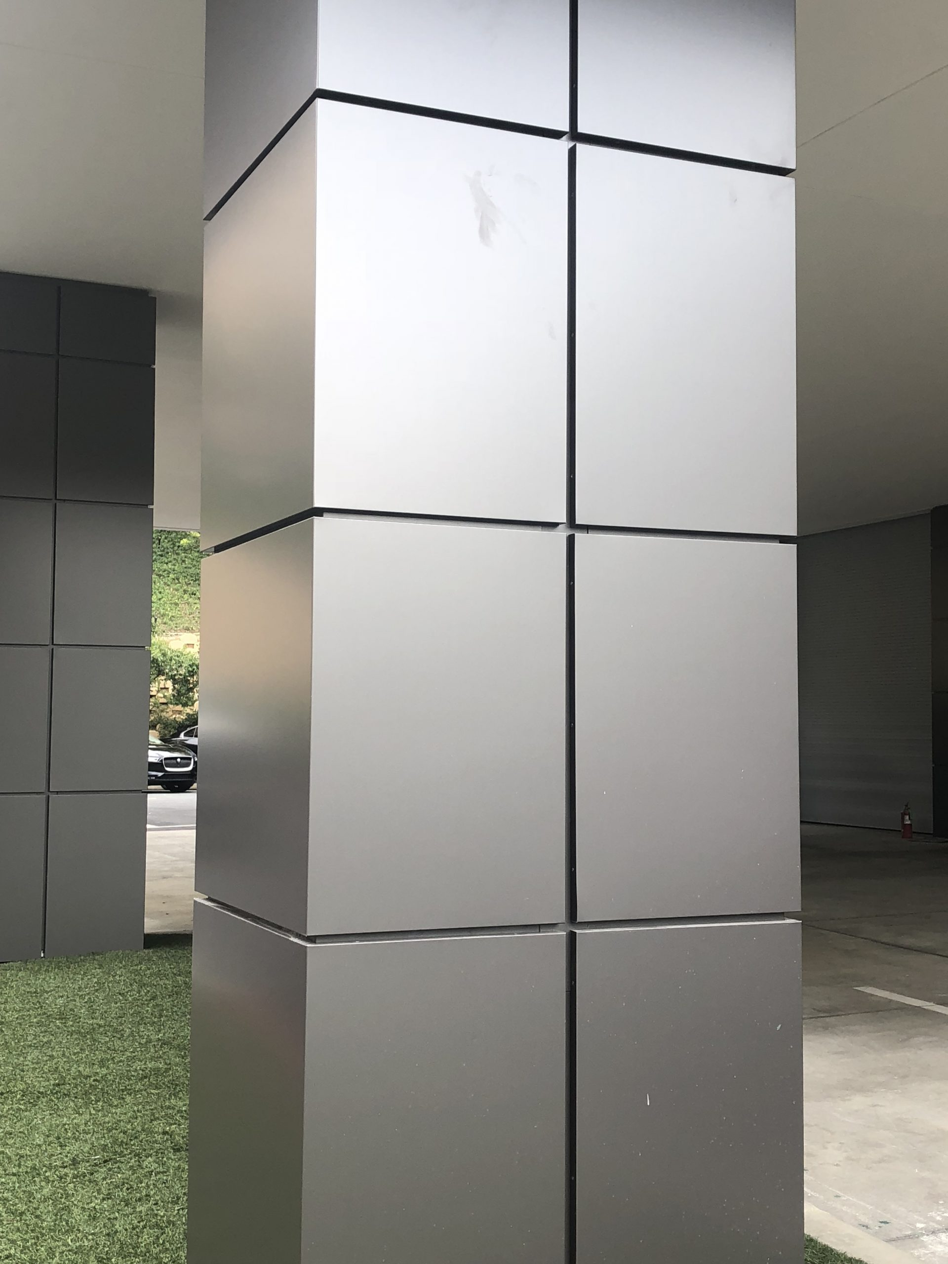 Ticlad Titanium walls and wall panels